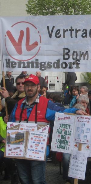 Rückblick 1.Mai 2017 Hennigsdorf