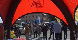 Gewerkschaften auf Handwerkstag in Neuruppin