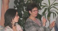 Gleichstellungsbeauftragte Pauli und DGB-Vorsitzende ZimmermannPauli