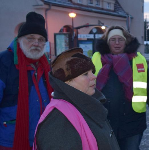 Neuruppin: Werbung für Betriebsratswahlen