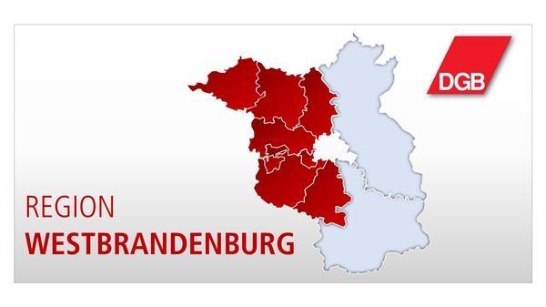 Karte Westbrandenburg