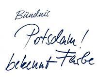 Logo Bündnis POTSDAM BEKENNT FARBE