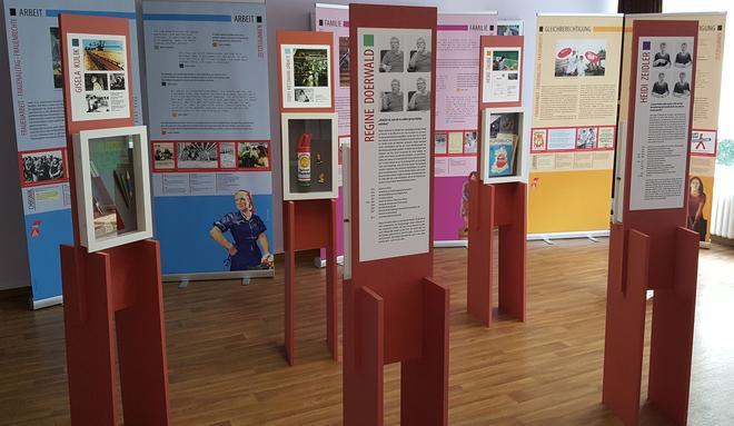 Ausstellung Fertiger Aufbau