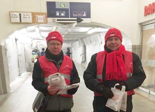 Oranienburg: Werbung für Betriebsratswahlen