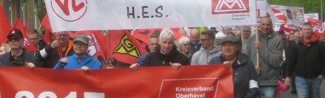 1.mai in Hennigsdorf