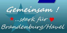 Logo Veranstaltung Gemeinsam! ...stark für Brandneburg/Havel