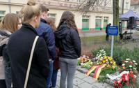 SchülerInnen gedenken NS-Opfer