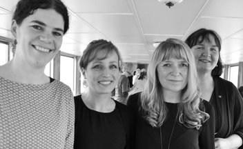 Strake Frauen in Potsdam 2018 - Staack, Faupel, Bahlo, Feldkötter