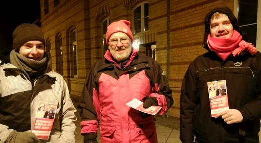 Ludwigsfelde: Werbung für BR-Wahl