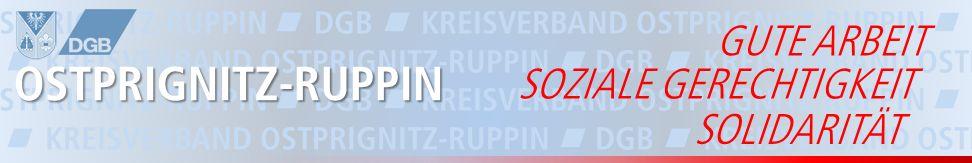 Bühne DGB-KV Ostprignitz-Ruppin