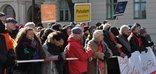 18.März 2018 in Potsdam - Kundgebung gegen rechten Aufmarsch