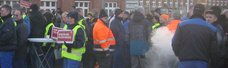 IGM-Warnstreiks in Westbrandenburg