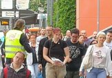 Pendleraktion am 31.Mai 2017 in Potsdam zur DGB-RENTENKAMPAGNE
